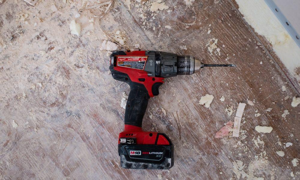 A drilling machine